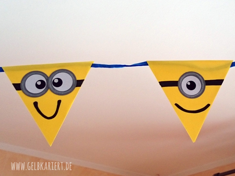 minions kindergeburtstagsparty alles selbst gemacht. Black Bedroom Furniture Sets. Home Design Ideas