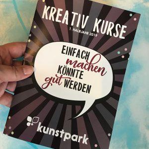 Handlettering Workshops im Kunstpark Herne, Lettering im Ruhrgebiet, Kreativ Kurse, Gelbkariert