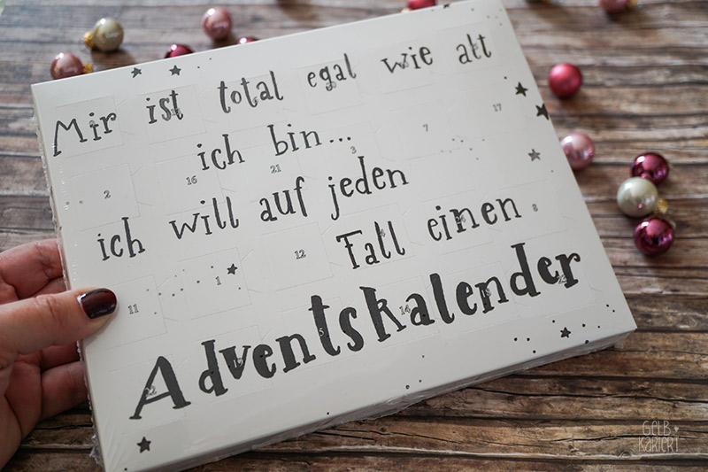 Weihnachts-Verlosung Handlettering Adventskalender von Gelbkariert