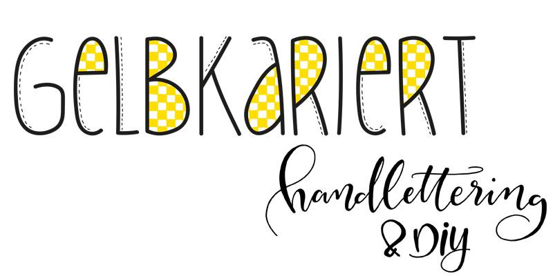 Gelbkariert - Handlettering