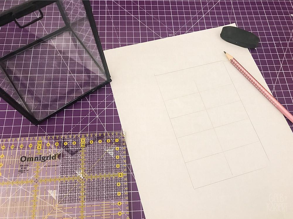 Vitrinendose mit Chalklettering, Chalk Marker, Blami Arts, Ideen fürs Lettering, DIY Idee, Handlettering Anleitung, Handlettering Sprüche, Lettering Anfänger, Gelbkariert Blog
