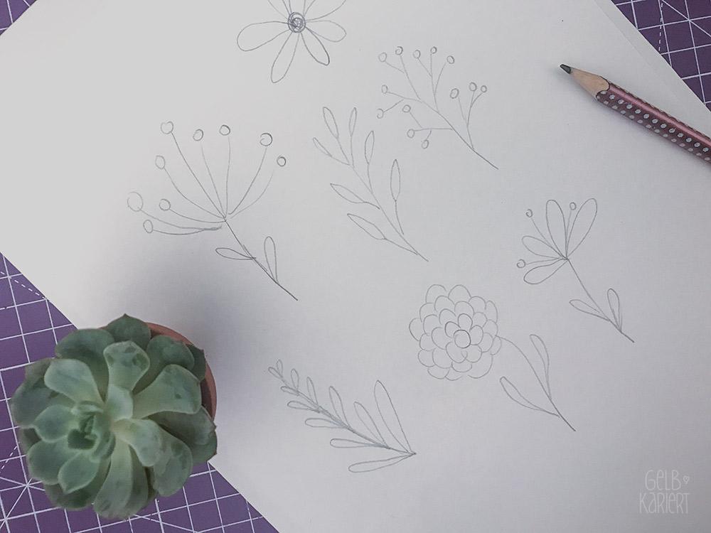 Chalklettering Chalklettering Vitrinendose mit Chalklettering, Chalk Marker, Blami Arts, Ideen fürs Lettering, DIY Idee, Handlettering Anleitung, Gelbkariert Blog