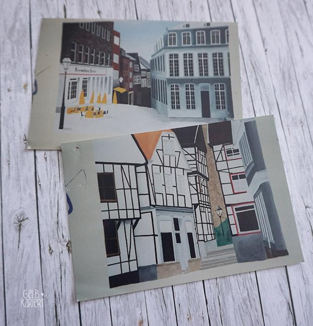 Meine Handletterings bei artboxONE | Handlettering | Verlosung | Lettering | Gelbkariert Blog