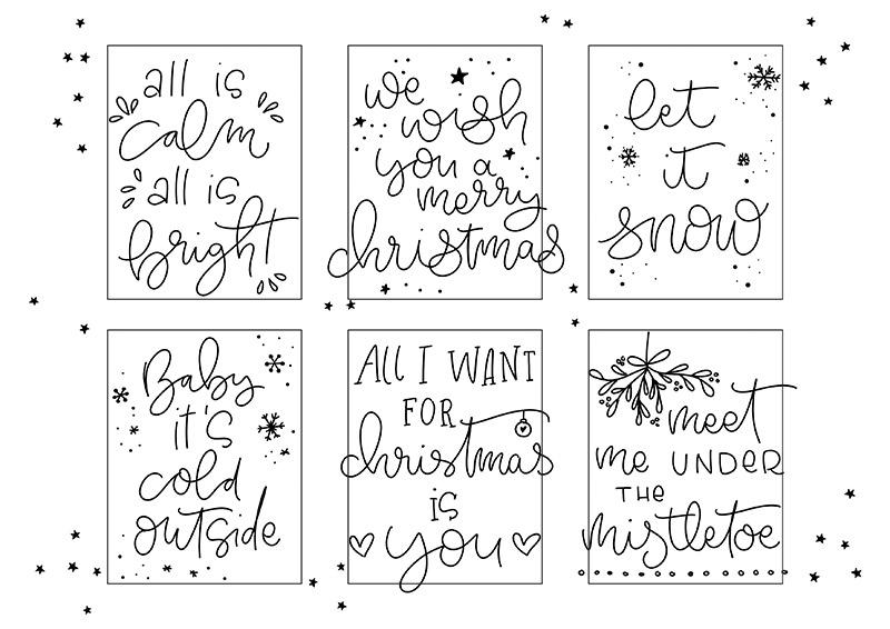 Tipps zur Faux Calligryphy Technik, Falsche Kalligrafie, Handlettering, Lettering, Lettern für Anfänger, Printable, Vorlage zum Üben, Lettering Vorlage, Gelbkariert Blog