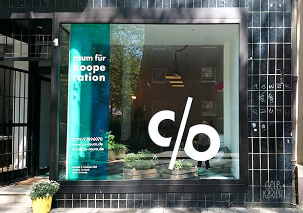 c/o Raum für Kooperation Gelsenkirchen Gelbkariert Blog