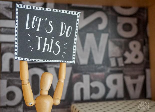 DIY Wandschränke mit Creatisto Folie aufmöbeln|Ikea Förhöja|Gelbkariert