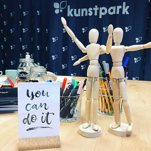 Handlettering Workshops im Kunstpark in Herne